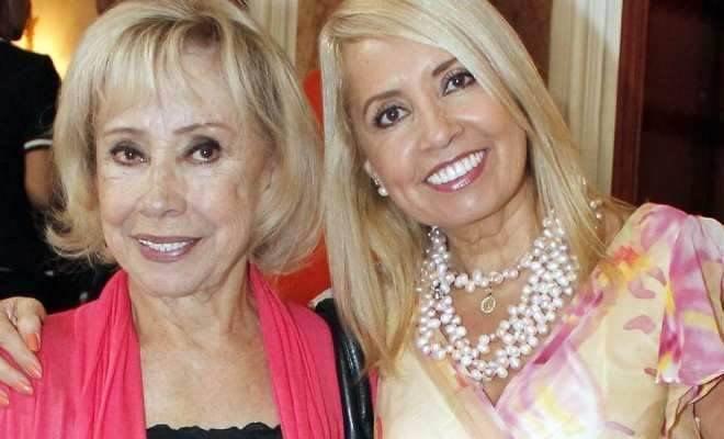 produtora de novelas Carla estrada e sua mãe