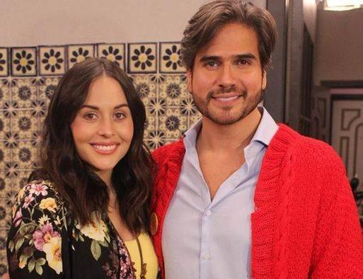 Daniel Arenas e Zuria Vega