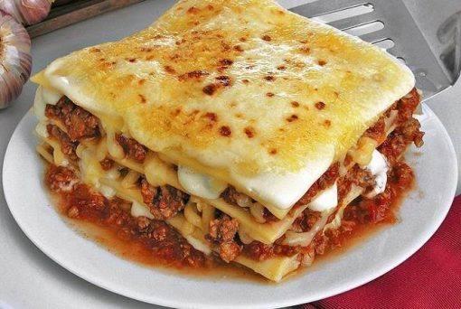 receita de lasanha mexicana