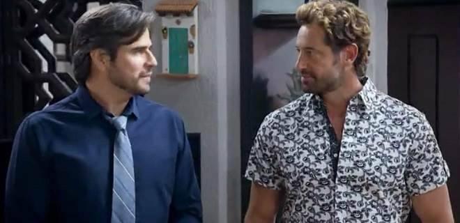 Daniel Arenas e Gabriel Soto