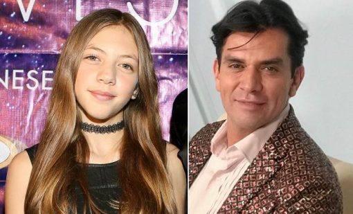Jorge Salinas e sua filha