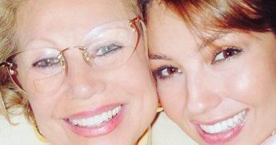 Thalia e sua mãe