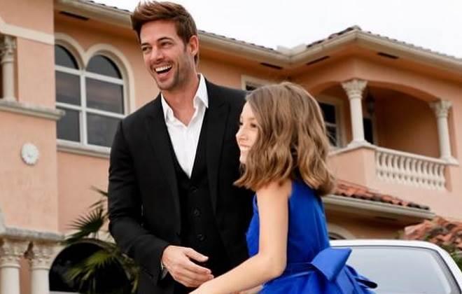 William Levy publica em suas redes sociais novas fotos com sua filha