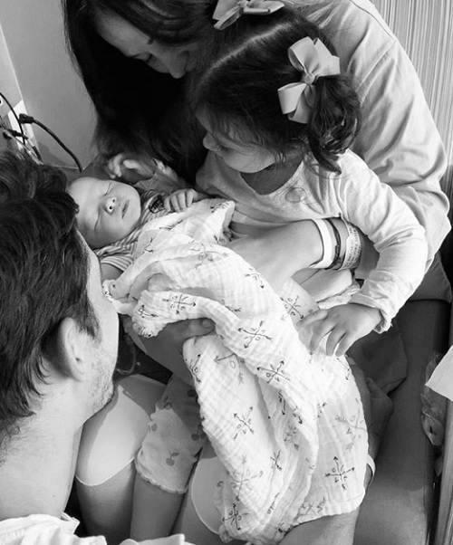 Zuria Vega e família
