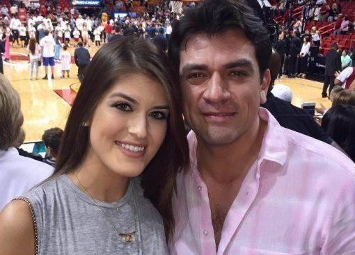 Gabriela Cataño Salinas, a filha mais velha de Jorge Salinas