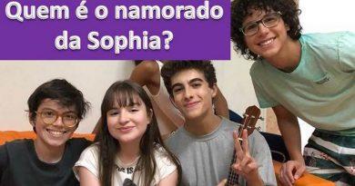 Sophia Valverde, a poliana, está namorando