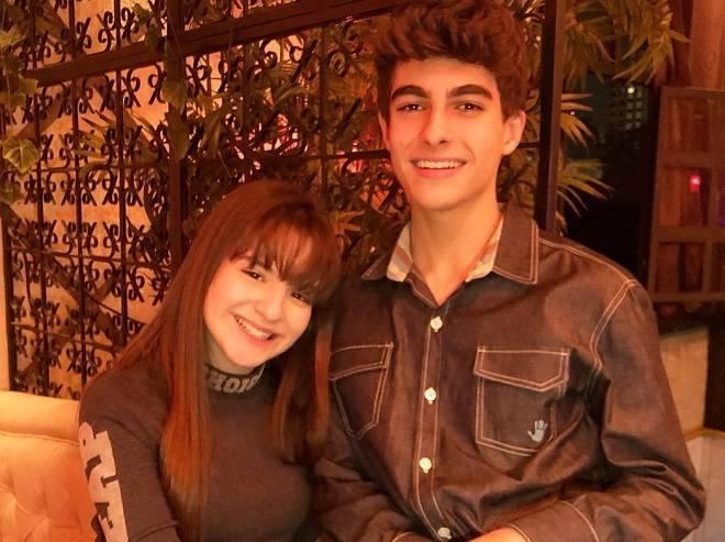 Sophia Valverde, a Poliana, e o namorado