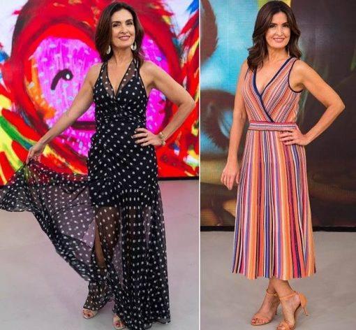 vestidos longos estampados tendências 2019