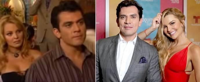 Jorge Salinas volta a trabalhar com atriz