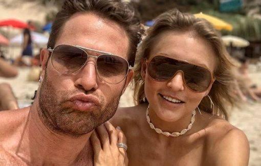 Angelique Boyer e Sebastián Rulli comemoram 5 anos de namoro