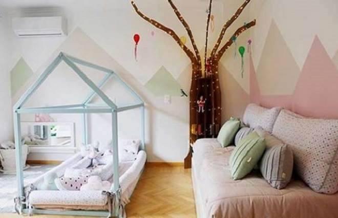 quartos dos bebês dos famosos Débora nascimento