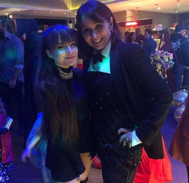 Sophia Valverde recebeu muitos famosos em sua festa de aniversário