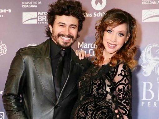 Kiara Sasso e Lázaro Menezes, que interpretam Alice e Lorenzo, os pais da Poliana