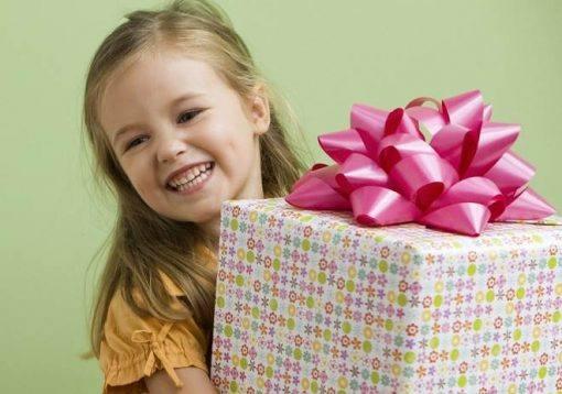 Dia das Crianças presentes