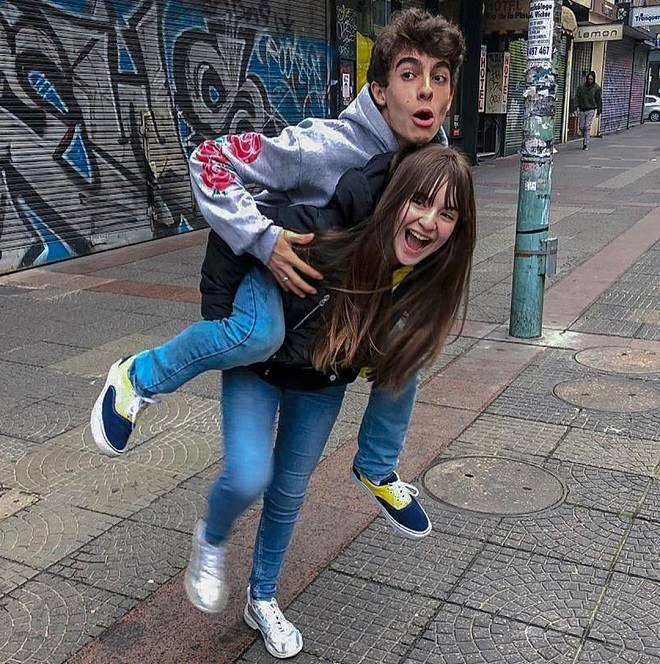 Sophia Valverde e Lucas