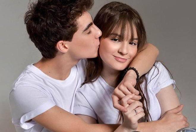 Sophia Valverde e namorado trocam declarações nas redes sociais