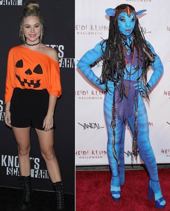 Fantasias de Halloween dos famosos