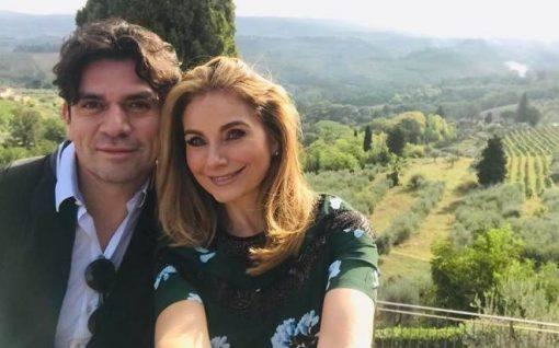 Jorge Salinas comemora aniversário de casamento