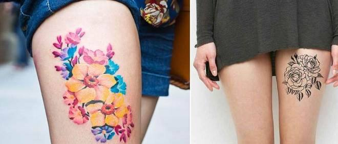 tatuagens de flores para se inspirar