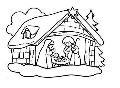 Desenhos para colorir de Natal