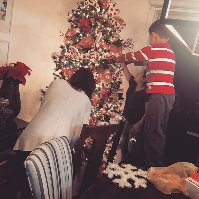 Mar Contreras de A Que Não Podia Amar  Natal em família