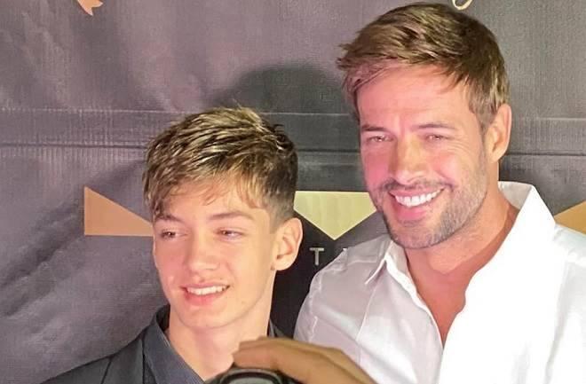 william levy e seu filho