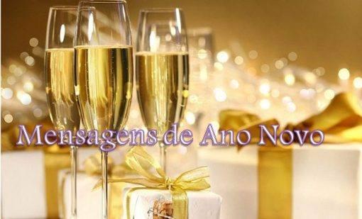 mensagens para o ano novo