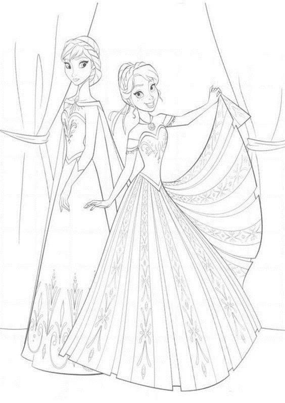 Desenhos do Frozen