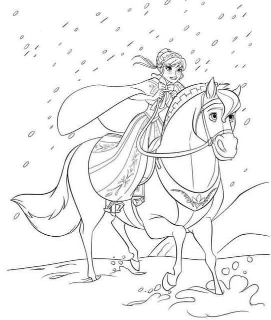 Desenhos do Frozen para colorir