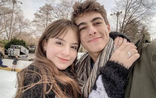 Sophia Valverde, a Poliana, completa 6 meses de namoro