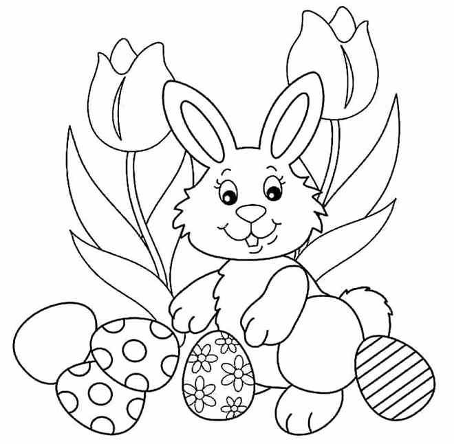 desenhos para colorir da Páscoa