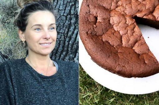 Receita do bolo de chocolate da atriz Dominika Paleta de Amanhã é para Sempre