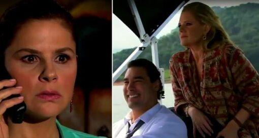 Amores Verdadeiros: Cristina surta ao saber que José Ângelo viajou com Vitória