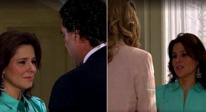 Amores Verdadeiros: Cristina vai pedir perdão a Aguiar e Vitória