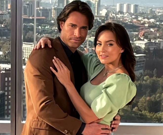Angelique Boyer e Sebastián Rulli voltam a ser par romântico
