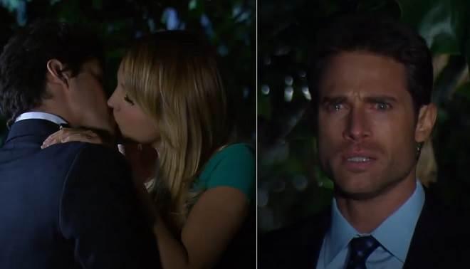Amores Verdadeiros: Nikki beija ex-namorado na frente de Gusmão