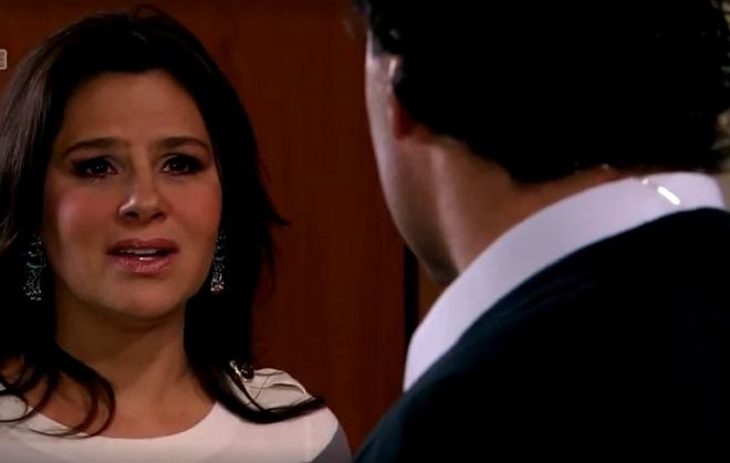 Amores Verdadeiros: Cristina segue conselho de Kendra e pede separação de Aguiar