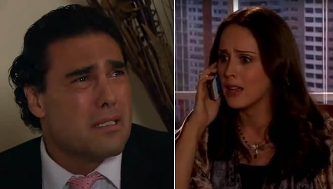 Amores Verdadeiros: Aguiar e Adriana se desesperam ao saber que Liliana foi ferida