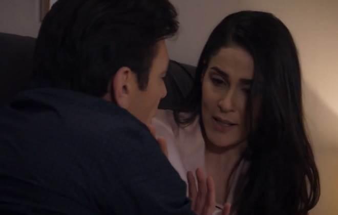 Te Dou a Vida: Ernesto tenta ficar a força com Helena